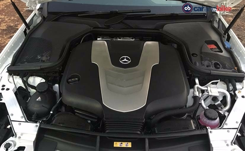 New Mercedes-Benz E-Class Engine