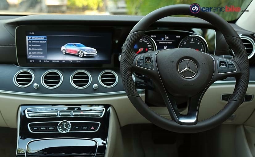 New Mercedes-Benz E-Class Instrument Cluster