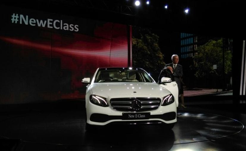 Made-in-India Mercedes-Benz E-Class launched at Rs 56.15 lakh