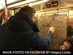 'We Will Not Let Hate Win': New Yorkers Erase Subway Swastikas With Hand Sanitizer