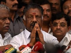 Those Trying To Oust AIADMK Will Go Into Oblivion: O Panneerselvam