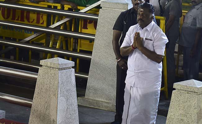 O Panneerselvam Is 'Thalaiva' (Leader) In His 'People's Survey' On Social Media