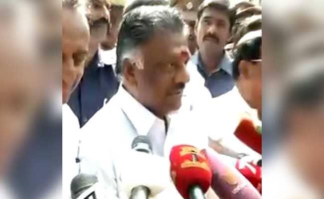 तमिलनाडु का कोई भी मंत्री अस्पताल में जयललिता से नहीं मिला : पनीरसेल्वम
