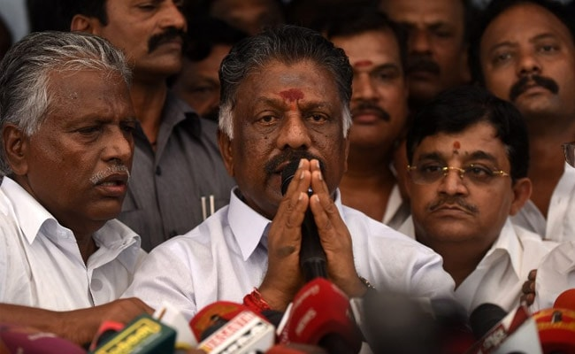 Investigate Jayalalithaa's 'Mystery' Death, Says O Panneerselvam, On Hunger Strike