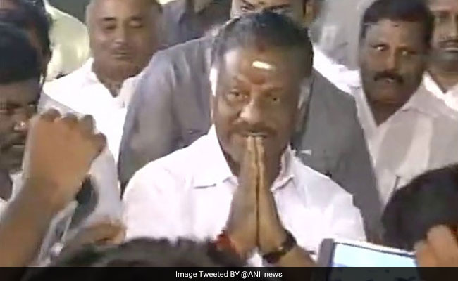 Police Asked Not To Arrest Son, Brother Of O Panneerselvam Till April 17