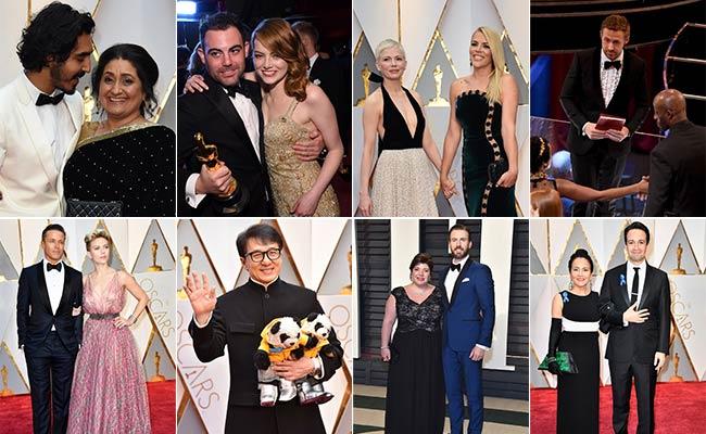 Oscars 2017: Dev Patel's Mother, Ryan Gosling's Sister Among Best Dates