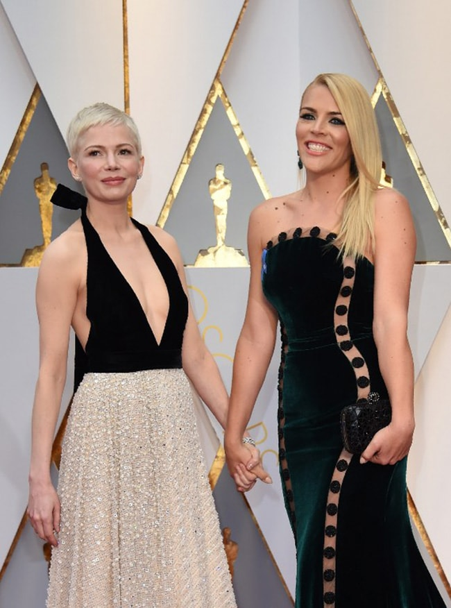 oscars michelle williams busy phillips