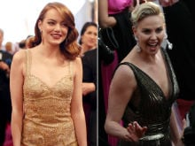 Oscars 2017: Stars Shimmer On Red Carpet As Diamonds And Gold Have Their Day