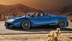 New Pagani Huayra Roadster Revealed