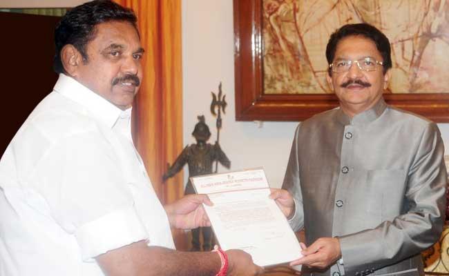 Governor C Vidyasagar Rao May Invite Sasikala Pick, E Palaniswami To Form Government: Sources