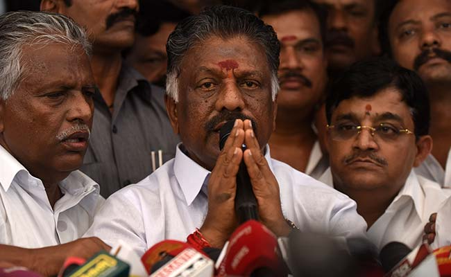 'Y' Security For Former Tamil Nadu Chief Minister O Panneerselvam