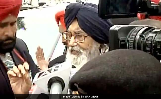 Punjab Elections 2017: Badals Vote In Native Village, Say 'Will Win Easily'