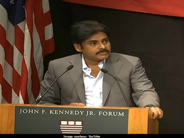 Pawan Kalyan's Harvard Speech: Was A School Drop-Out, Never Wanted To Be An Actor