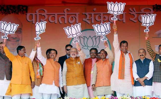 BJP Wins 3 Graduate Legislative Council Seats In Uttar Pradesh