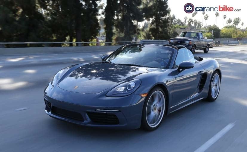 Exclusive: Porsche 718 Boxster Review