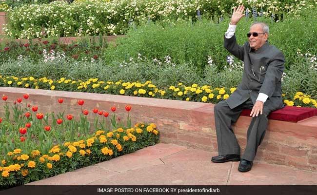 President Pranab Mukherjee Inaugurates Rashtrapati Bhavan's Annual 'Udyanotsav'