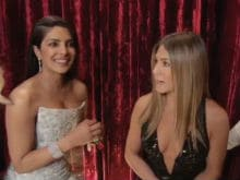 Oscars 2017: In Which Priyanka Chopra Interviews Jennifer Aniston
