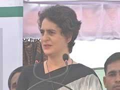 प्रियंका गांधी का मोदी पर हमला, कहा - यूपी को किसी बाहरी को गोद लेने की जरूरत नहीं