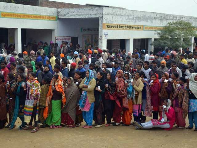 Punjab Records 70% Turnout, Voting Largely Peaceful