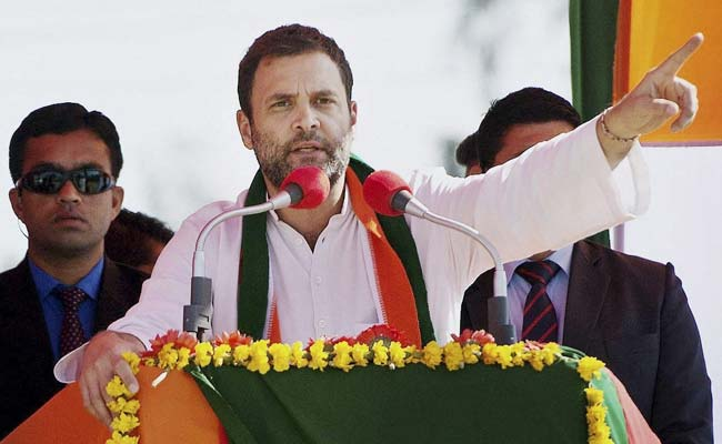 PM Hugs US President, But Doesn't Speak On Indians Killed: Rahul Gandhi