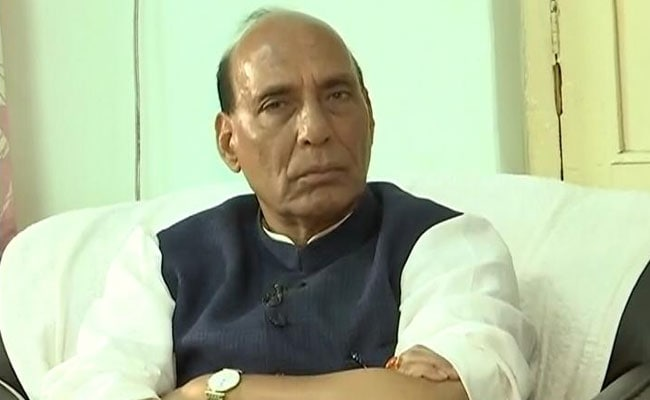 Rajnath Singh Reviews Rs 80,000 Crore Package For Jammu And Kashmir