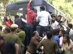 Clashes Outside Delhi's Ramjas College Over Invite To JNU's Umar Khalid
