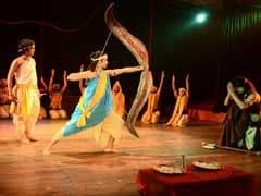 भारत रंग महोत्सव में रामकथा का बघेली में हुआ मंचन