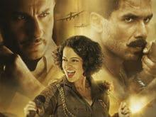 What Kangana Ranaut Said About <i>Rangoon</i> Co-Stars Shahid Kapoor, Saif Ali Khan