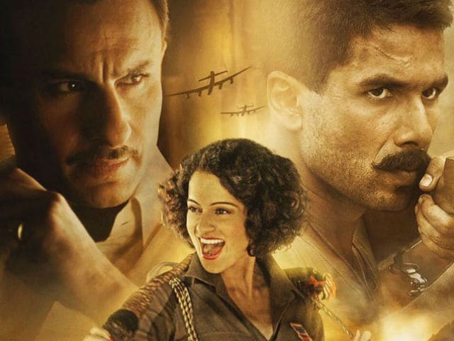 Rangoon: Shahid Kapoor, Kangana Ranaut, Saif Ali Khan In Behind-The-Scenes Video