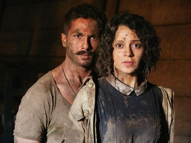 Rangoon Box Office Collection Day 3: Kangana Ranaut, Shahid Kapoor and Saif Ali Khan's Film Makes Rs 14 Crore