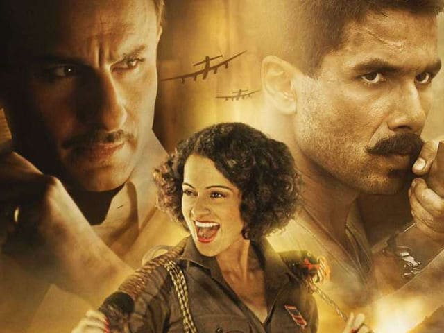 Rangoon Preview: Kangana Ranaut, Shahid Kapoor, Saif Ali Khan In Tale Of Wartime Passion