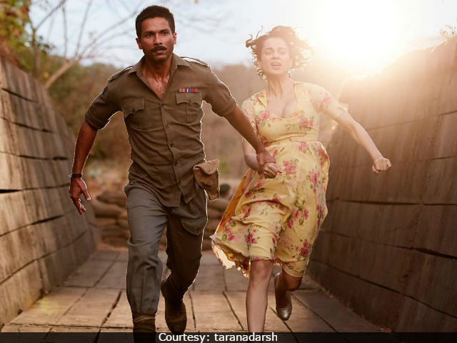 Rangoon Box Office Collection Day 4: Kangana Ranaut's Film Suffers 'Epic Crash'