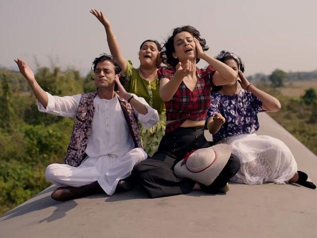 Rangoon Song Tippa: Kangana Ranaut Recreates Chhaiya Chhaiya Magic