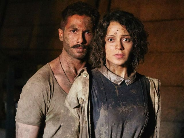 Today's Big Release: Kangana Ranaut, Shahid Kapoor And Saif Ali Khan's Rangoon
