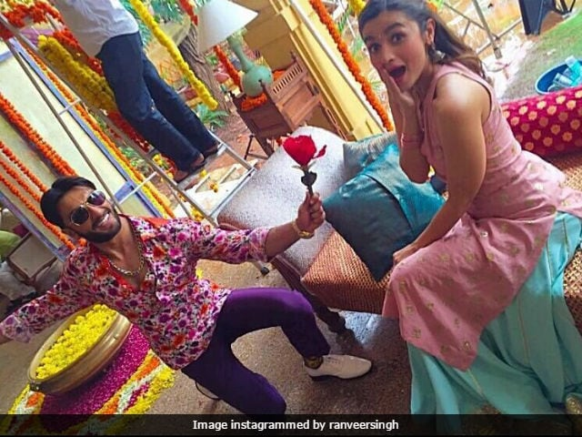 Ranveer Singh And Alia Bhatt Groove To Tamma Tamma, Badrinath, Better Watch Your Dulhania