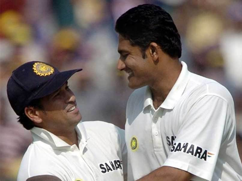 Image result for sachin kumble test match