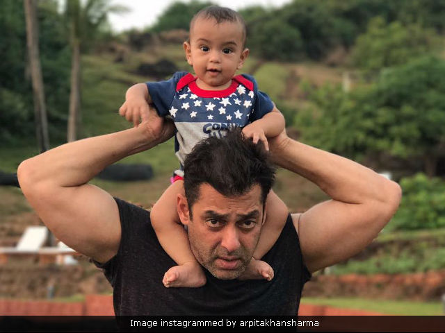 Pics: Salman Khan's Play Date With Nephew Ahil Are Truly