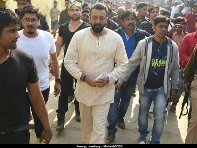 Sanjay Dutt's Bhoomi Stalled After 'Unruly Crowd Took Over Sets' In Agra