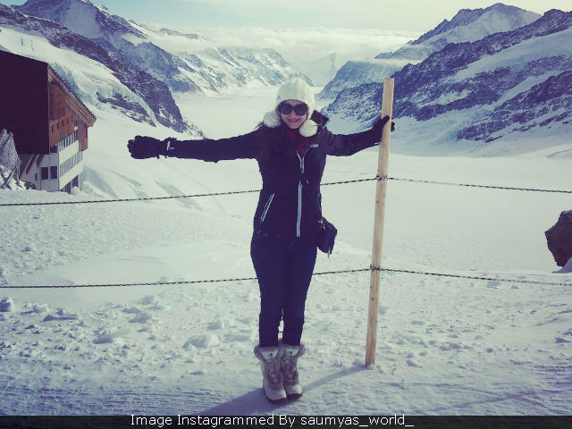 Bhabi Ji Ghar Par Hai Actress Saumya Tandon Shares Pics From Honeymoon