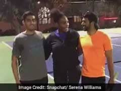 Serena Williams Challenges Strangers To A Tennis Match. Watch The Snapchat Story