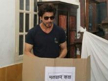 BMC Elections 2017: Shah Rukh Khan, John Abraham, Shraddha Kapoor, Anushka Sharma, Ranveer Singh Voted