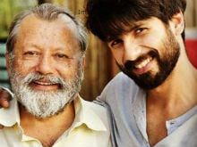 What Shahid Kapoor's Father Said After Watching Him In <I>Rangoon</i>