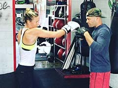 Maria Sharapova Takes To Boxing, Imagines People She Wants To Hit