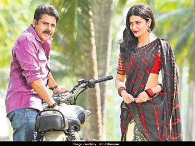 Pawan Kalyan Is Special To Work With, Says His Co-Star Shruti Haasan