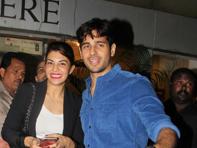 Reload Done.  Sidharth Malhotra And Jacqueline Share Pics