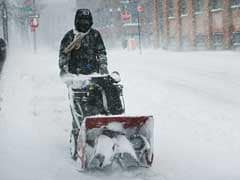 Heavy Winter Snow Storm Lashes Out In Northeast US