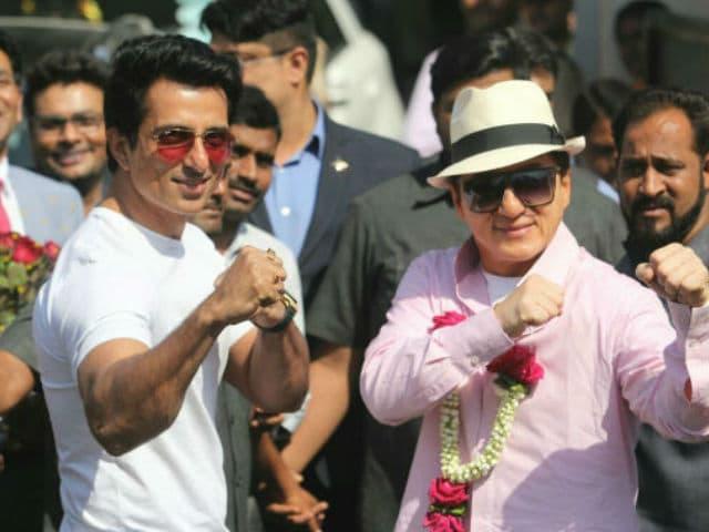 Sonu Sood Describes Jackie Chan's 'Hectic' India Visit