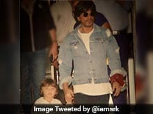 Shah Rukh Khan And AbRam Went For A Late Night Walk Down The Beach. See Pic