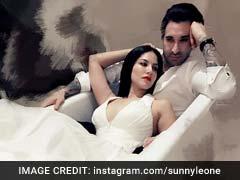 सनी लियोनी ने पति डेनियल के साथ बाथटब में कराया फोटोशूट
