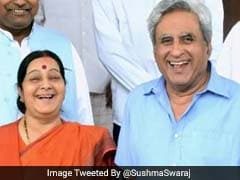 'प्लीज़ मुझे 'बिंदिया चमकेगी' वाले दिन याद न दिलाएं' सुषमा स्वराज के पति का मज़ेदार जवाब